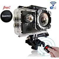4K Wifi Sports Action camera,Full HD waterproof DV Camcorde, 2.0 Inch LCD 170 Degree Ultra Wide-Angle Len With Sony Sensor , Giveaway Free Of Portable Travel Case For Earpieces,USB cables, Coins ,etc.