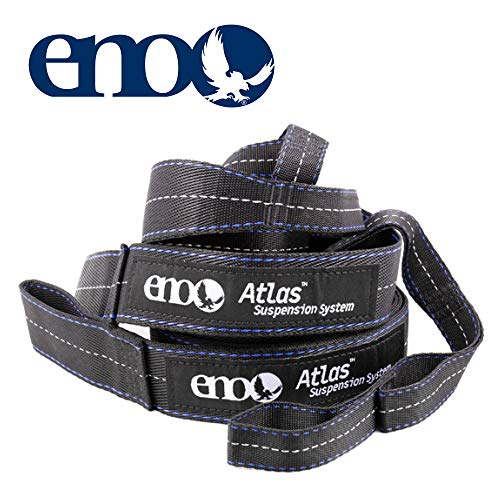 - ENO - Eagles Nest Outfitters Atlas Hammock Straps, Suspension System, 400 lb Capacity, 9' x 1.5/.75
