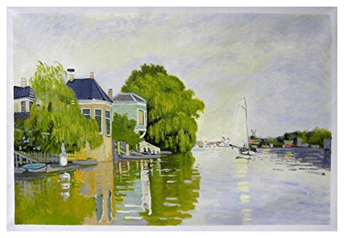Used, Landscape Near Zaandam - Claude Monet high quality for sale  Delivered anywhere in USA