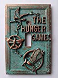 The Hunger Games - Light Switch Cover - Aged Copper/Patina or Stone (Copper/Patina)