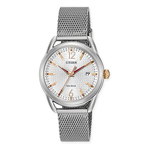 - Citizen Eco-Drive Women's Stainless Steel Watch