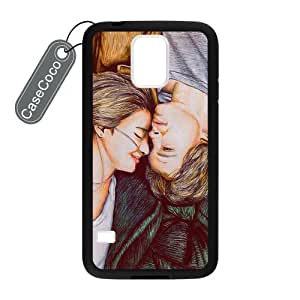 CASECOCO(TM) Samsung Galaxy S5 Case, The Fault In Our Stars Case for Samsung Galaxy S5 - Protective Hard Back / Black Rubber Sides