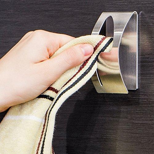 Tatkraft Strong Adhesive Holder Stainless product image