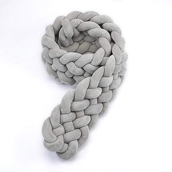 Amazon.com: ARTBECK - Cojín de franela para cuna, diseño de ...
