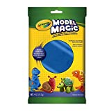 Crayola 113 gm Model Magic, Blue, School and Craft Supplies, Gift for Boys and Girls, Kids, Ages 3,4, 5, 6 and Up, Holiday Toys, Stocking Stuffers, Arts and Crafts