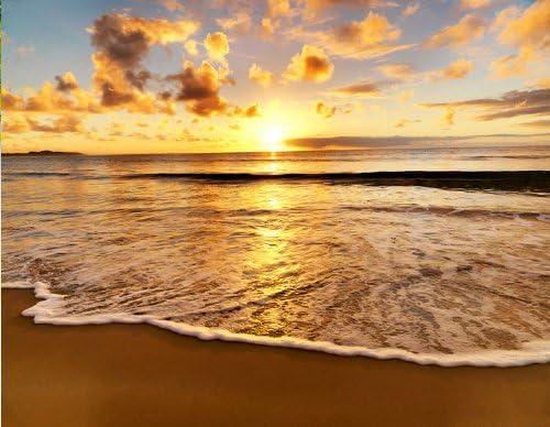 Fototapete Tapete Wandbild Vlies 119904FW Strand Sonnenuntergang