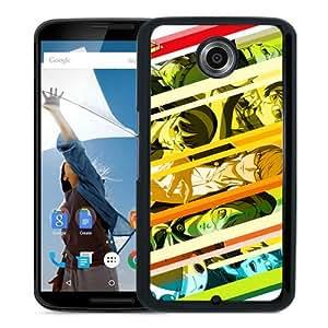 Persona 4 Black Personalized Recommended Custom Google Nexus 6 Phone Case
