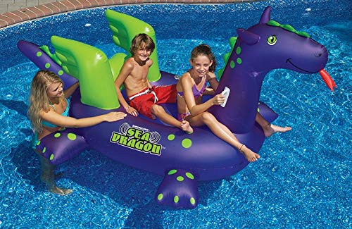 Swimline Giant Sea Dragon Inflatable Pool Toy - http://coolthings.us