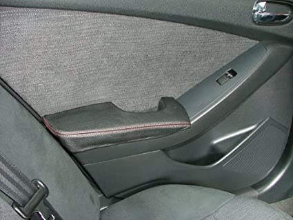 RedlineGoods Nissan Altima 2007-12 cubierta de apoyabrazos puerta trasera de