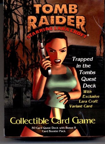 Tomb Raider - Starring LARA CROFT Collectible Card Game - Trapped in the Tombs Quest Deck