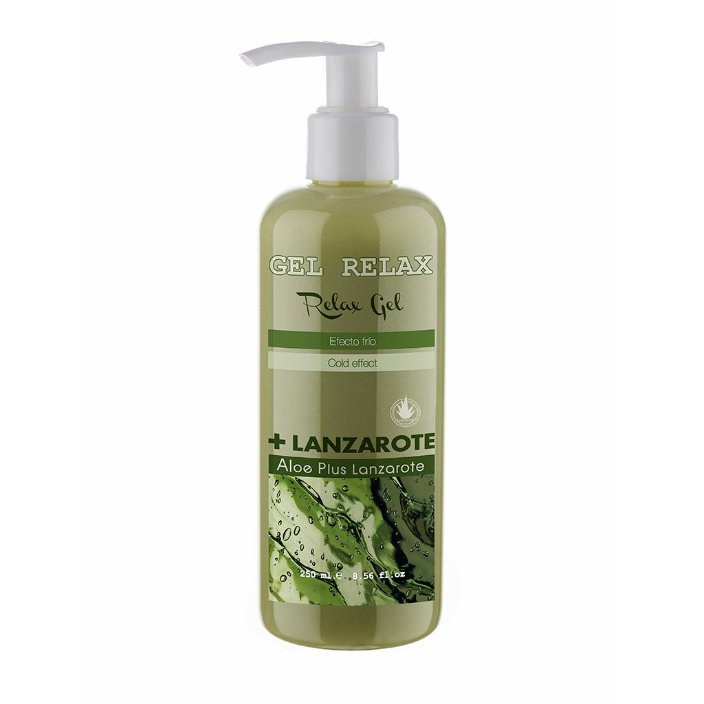 Aloe Plus Lanzarote Relax gel, effetto freddo, aloe vera 250 ml aloe vera 250 ml APL00096