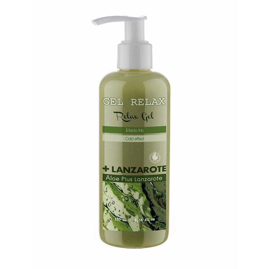 Aloe Plus Lanzarote Relax gel, effetto freddo, aloe vera 250ml aloe vera 250ml APL00096