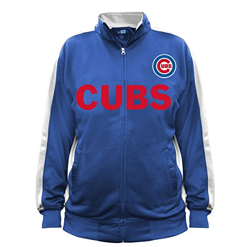 MLB Chicago Cubs Men's Big & Tall Track Jacket, 2X/Tall, - Cubs Jacket Chicago