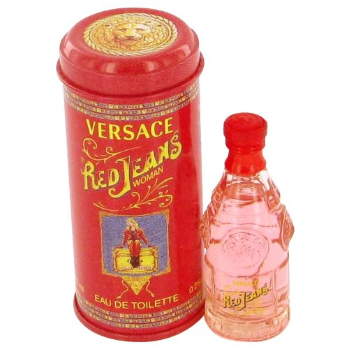 RED JEANS by Versace Women's Mini EDT .25 oz - 100% (Gianni Versace Red Jeans)