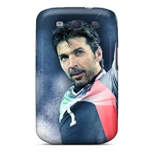 Fashion Tpu Case For Galaxy S3- The Irreplaceable Goalkeeper Of Juventus Gianluigi Buffon Defender Case Cover
