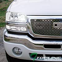 Topline Autopart Factory Crystal Style 6000K HID Xenon...