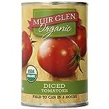 Muir Glen Dice Tomato Organic 6 X 14.5 Oz Net Wt (87 Oz), 87 Ounces