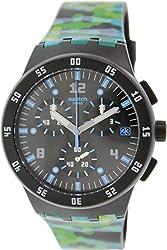 Swatch Men's Originals SUSB403 Multi Rubber Swiss Quartz Watch
