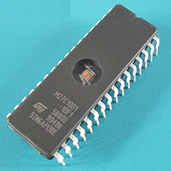ST IC EPROM UV 1MBIT 120NS 32CDIP NEW Quality M27C1001-12F1 27C1001