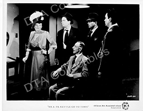 MOVIE PHOTO: MA & PA KETTLE GO TO TOWN-MARJORIE MAIN-PERCY KILBRIDE FN