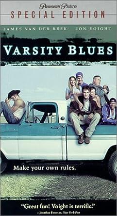 Varsity Blues [USA] [VHS]: Amazon.es: James Van Der Beek, Amy ...