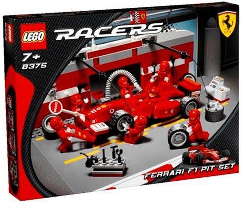 レゴ (LEGO) レーサー フェラーリF1ピットセット 8375   B0001VVH78