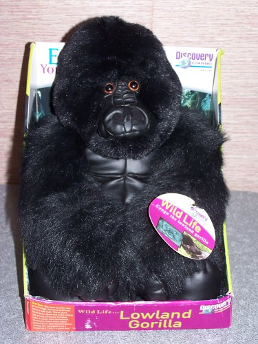 discovery-channel-congo-the-lowland-gorilla-plush-wildlife-series-14-inches-tall
