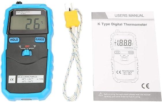 Bside BTM01 Digital LCD Electronic Temperature Meter Thermometer Meter K Type