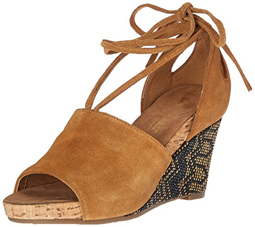 Aerosoles Womens Spring Plush Wedge Sandal