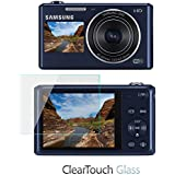 BoxWave Samsung DV150F Screen Protector, [ClearTouch Glass] 9H Tempered Glass Screen Protection for Samsung DV150F