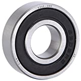 XiKe 10 Pack 6202-2RS Bearings 15x35x11mm, Stable Performance and Cost-Effective, Double Seal and Pre-Lubricated, Deep Groove Ball Bearings.