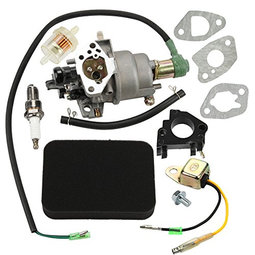 Panari Carburetor + Air Filter Insulator for Honda EB5000X EB6500X EB6500SX EM5000SX EW171 Generator