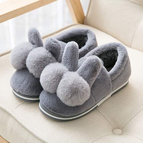 Grey1 Pantofole Per 42 purplel Carini Cotone Invernali Interni 43 Calde Bambini Jia In Donna Invernale Borsa Cotone Scarpe 22 Hong Da Di 5pRwqHSZ
