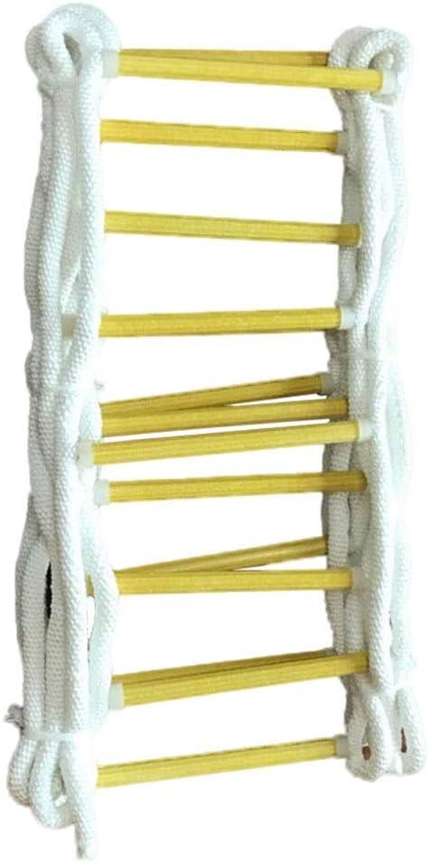 Escalera de emergencia for cuerda de escape de incendios, Escalera de cuerda de rescate Escalera de escape Respuesta de seguridad en el trabajo de emergencia Rescate de incendios Escalada en roca Esca: