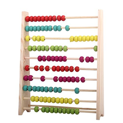 PIXNOR Abbaco of Wood Classic Colorful Educational Toy for Children