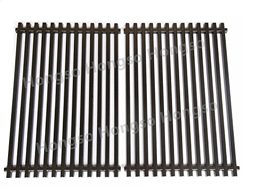 Hongso PCG525 7527 9930 Heavy Duty Porcelain Enameled Replacement Cooking Grill Grid Grates for Weber Spirit Genesis Grills, Lowes Model Grills