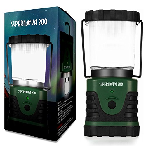 (Supernova 300 Lumens Ultra Bright LED Camping and Emergency)