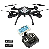 Memorial Day F4 WiFi FPV Quadcopter Drone w/ HD Camera,Live Video For Aerial Photography,Altitude Hold,Headless Mode,Easy to Fly for Expert Pilots & Beginners| Great Gift Idea by Contixo