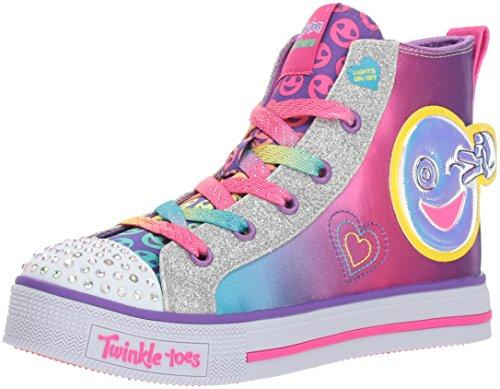 Skechers Kids Twinkle Lite-Happy Pals Sneaker