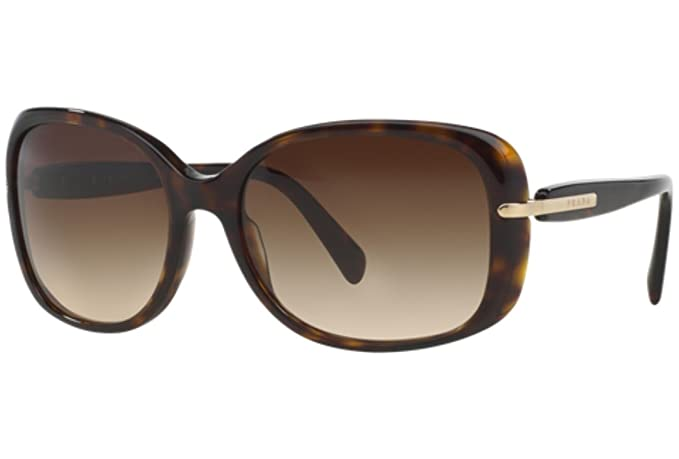 Gafas de Sol Prada PR 08OS HAVANA - BROWN GRADIENT: Amazon ...
