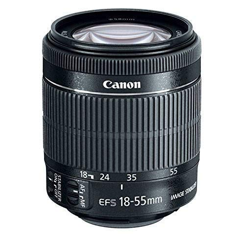 Canon 8114B002 EF-S 18-55mm is STM (Renewed)