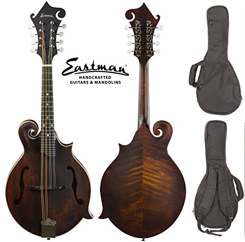 Eastman MD315 Classic Finish F-style Mandolin with Gig Bag ()
