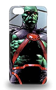 High Quality Shock Absorbing Case For Iphone 5c American Martian Manhunter Justice League 6211582M22398307