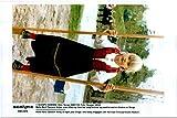 Vintage photo of Crown Princess Mette-Marit of Norway eight years old