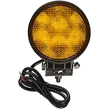 Whelen T0A00FAR 2 Round LED Flasher Amber With Amber Lens Lighthead