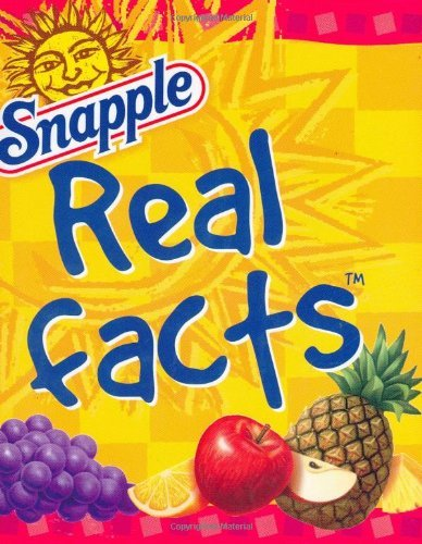 snapple-real-facts-mini-book-charming-petites-by-peter-pauper-press-2004-07-01