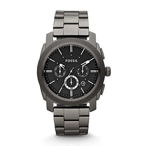 Mens Fossil Machine Chronograph Watch FS4662 With Black ()