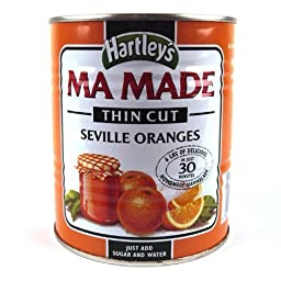 Hartleys Orange Mamade Thin Cut Orange Marmalade Mix 850gX2PK