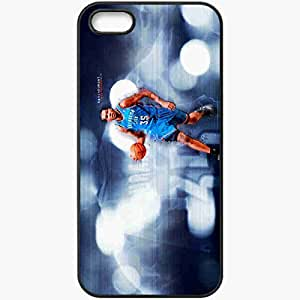Personalized iPhone 5 5S Cell phone Case/Cover Skin 14935 kevin durant by rhurst d4zt56o Black
