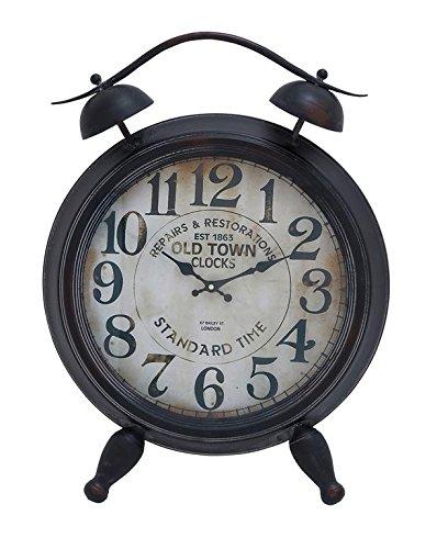 Deco 79 52523 Metal Table Clock, 25